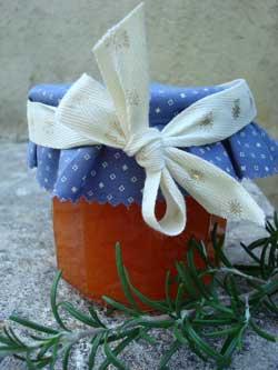 Confitureabricot-romarin