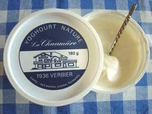 Yogurt La ChaumièreVerbier