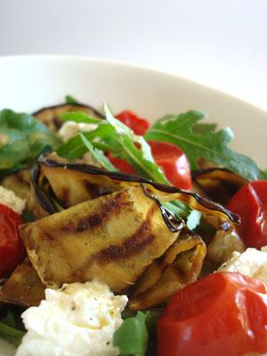 Aubergine-salad
